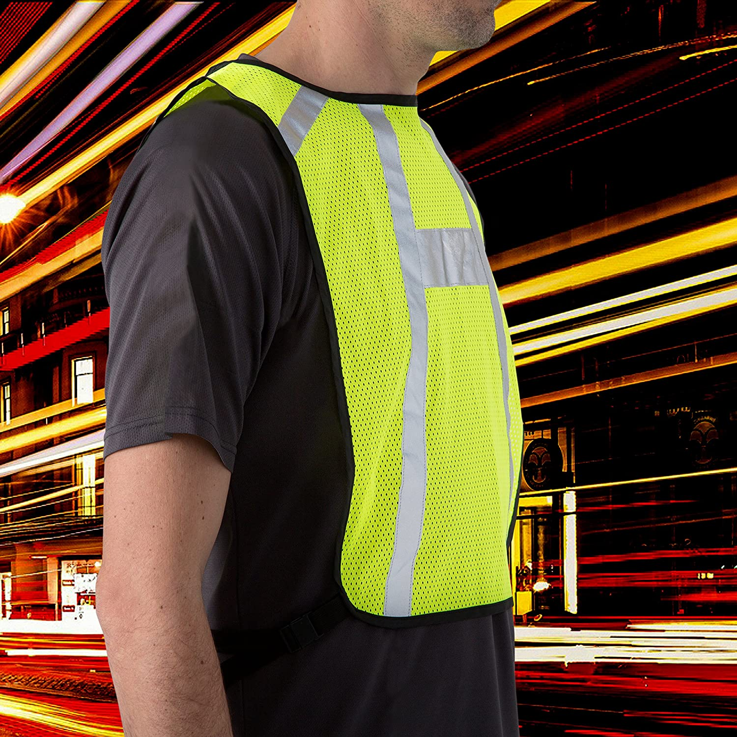 BTR High Visibility Reflective Running Bib  Vest. Suitable for running 215aa230e