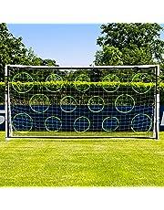 Net World Sports Mur de Tir de Football   Équipement d'Entraînement de Football (Poteaux Pas Inclus)