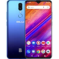 "BLU G9-6.3"" HD+ Infinity Display Smartphone, 64GB+4GB RAM -Blue"
