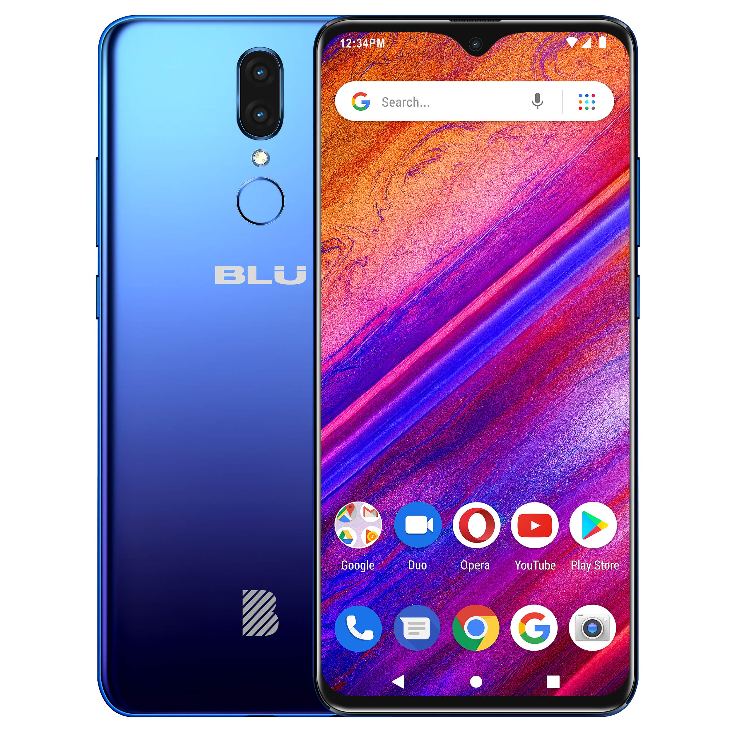 BLU G9 - 6.3'' HD Infinity Display Smartphone, 64GB+4GB RAM -Blue by BLU