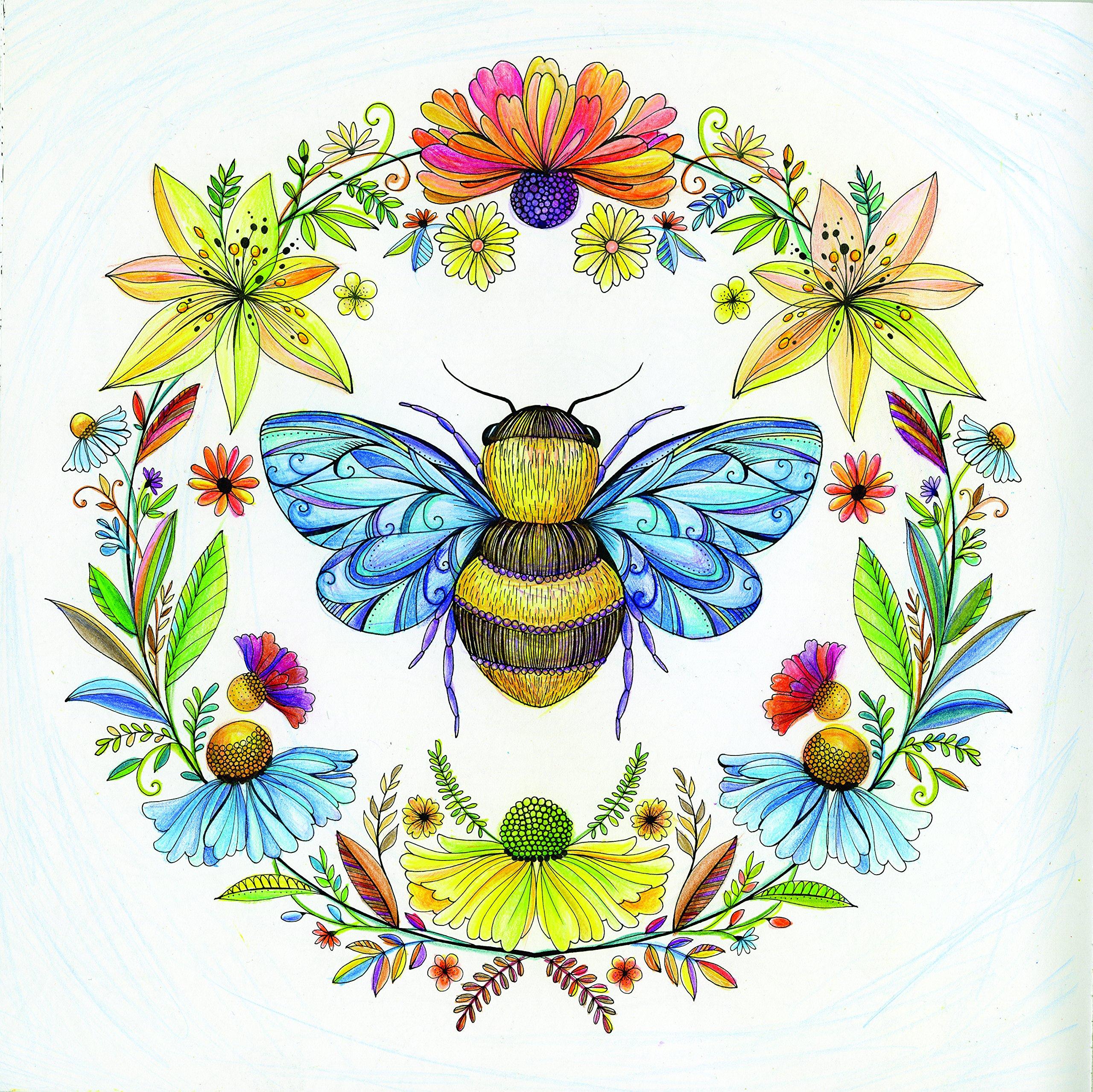Joyous Blooms To Color Eleri Fowler 9780062443809 Amazon Books