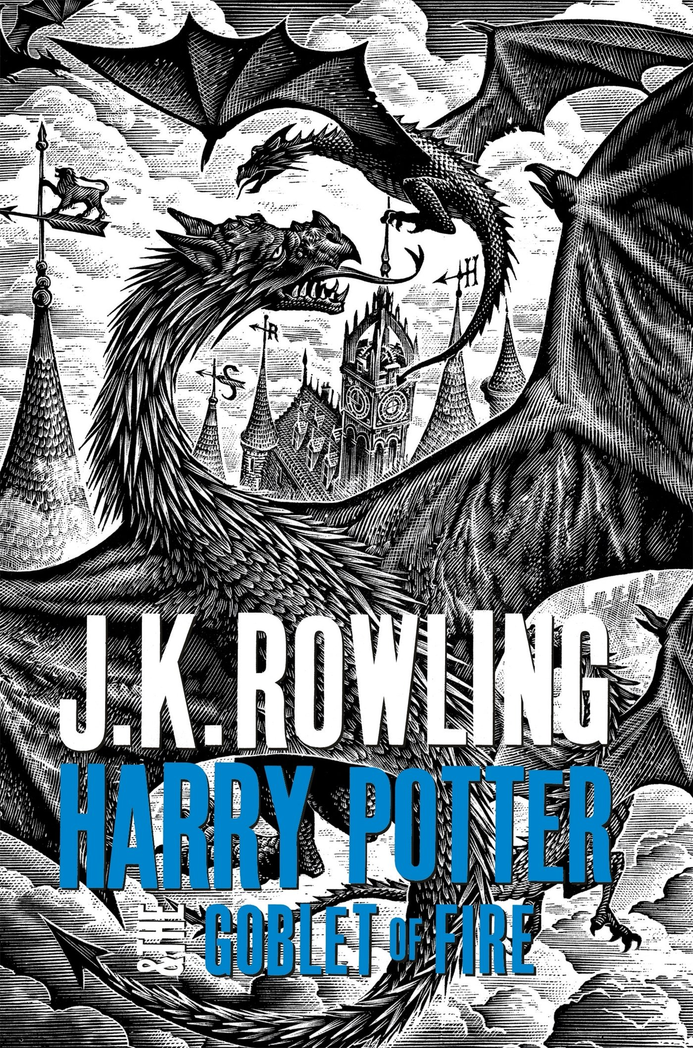 Harry Potter And The Goblet Of Fire - Adult Edition Harry ...