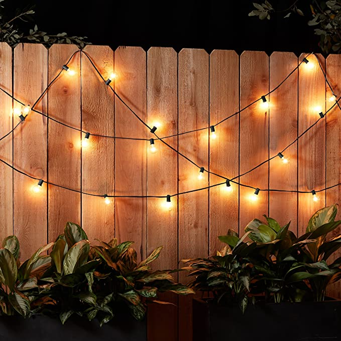 AmazonBasics PATIO 25' PATIO LIGHTS NOW ONLY $13.06!
