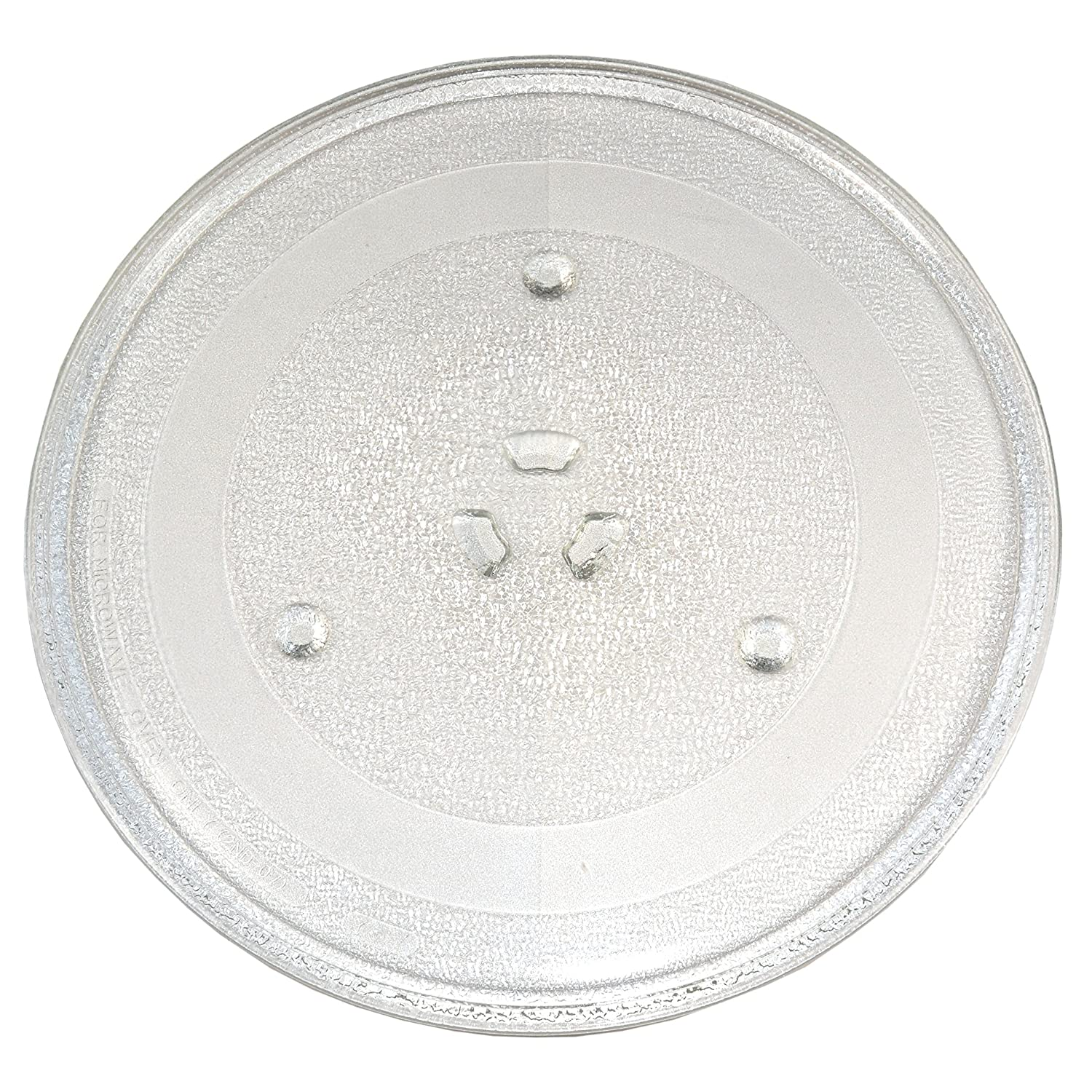HQRP 11-1/4 inch Glass Turntable Tray for Westinghouse WST3507SS Microwave Oven Cooking Plate + HQRP Coaster