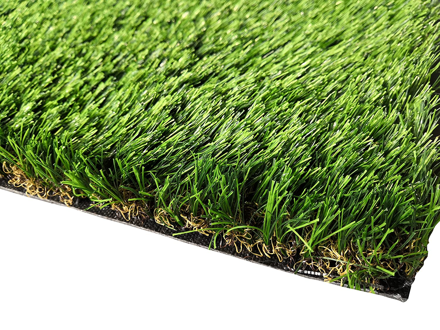 4ft x 2ft PZG Commerical Artificial Grass Patch w Drainage Holes & Rubber Backing   Extra-Heavy & Durable Turf   Lead-Free Fake Grass for Dogs or Outdoor Decor   Total Wt. 94 oz & Face Wt. 62 oz   4' x 2'