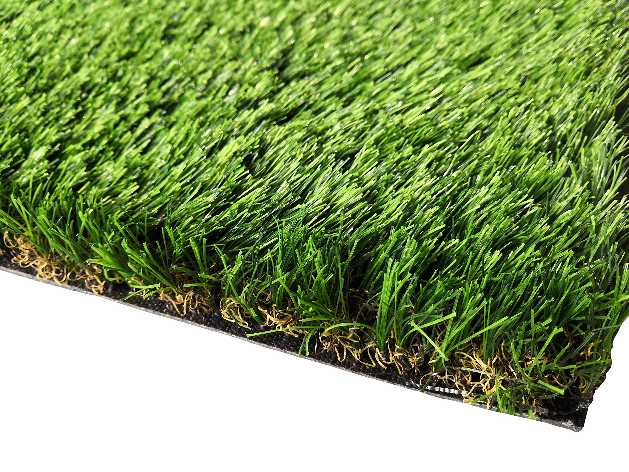 PZG Commerical Artificial Grass Patch w/ Drainage Holes & Rubber Backing | Extra-Heavy & Durable Turf | Lead-Free Fake Grass for Dogs or Outdoor Decor | Total Wt. - 94 oz & Face Wt. 62 oz | 82' x 7.5' by Pet Zen Garden