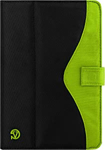 New Edition Soho Black Tablet Case for 9 10.1inch Tablets for Acer Iconia Tab 10 A3 A20 K1AY 10.1 Inch, Toshiba Thrive 10.1 Inch, Black, Apple Green