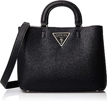 GUESS Womens Girlfriend Satchel Bag, Black - VG743906