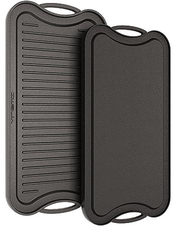 Amazon.com: Vremi 20 inch Cast Iron Griddle for Kitchen Stove Top ...