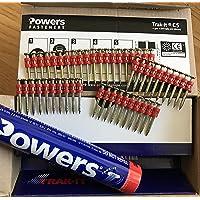 Powers Spijkers, C5 38 mm, XH Gasspijker, Würth Diga CS-2, Dewalt, Powers C5, MAXGS73 en bevoegdheden Gas