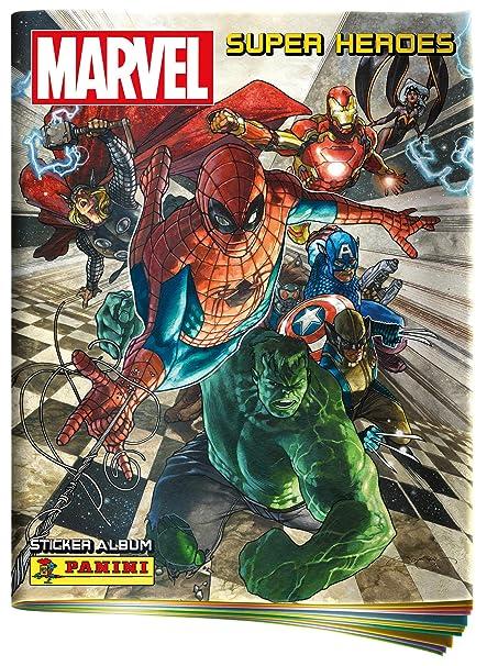 Panini- Álbum Marvel Súper Héroes (003311AE): Amazon.es ...