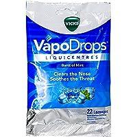 Vicks VapoDrops Liquicentres Burst of Mint Cough Lozenges 22 Pack