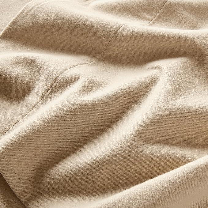 Amazon.com: Stone & Beam Juego de sábanas de franela ...