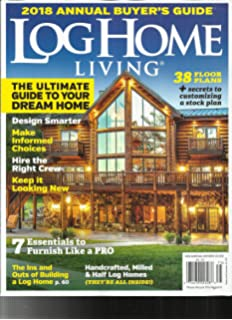 Home And Living Magazine log home living amazon com magazines