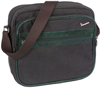 ebf3defbc859 adidas S VESPA SIR F10 Shoulder Bag Black Deepest Green  Amazon.co.uk   Sports   Outdoors