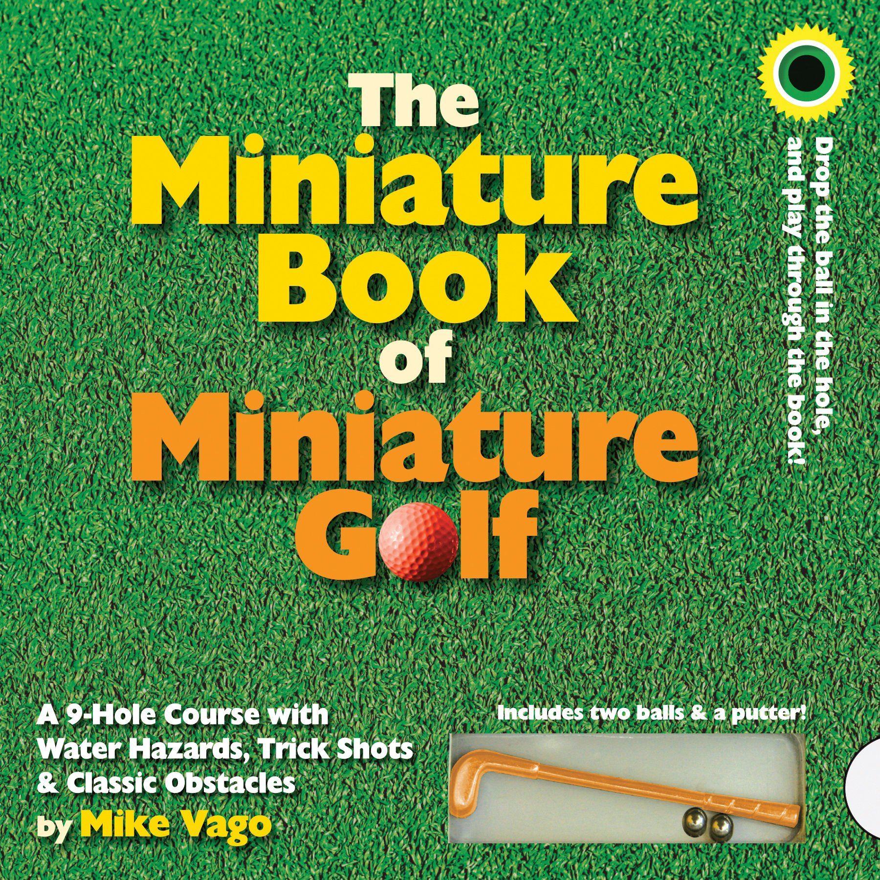 The Miniature Book Of Miniature Golf Mike Vago 0019628154132