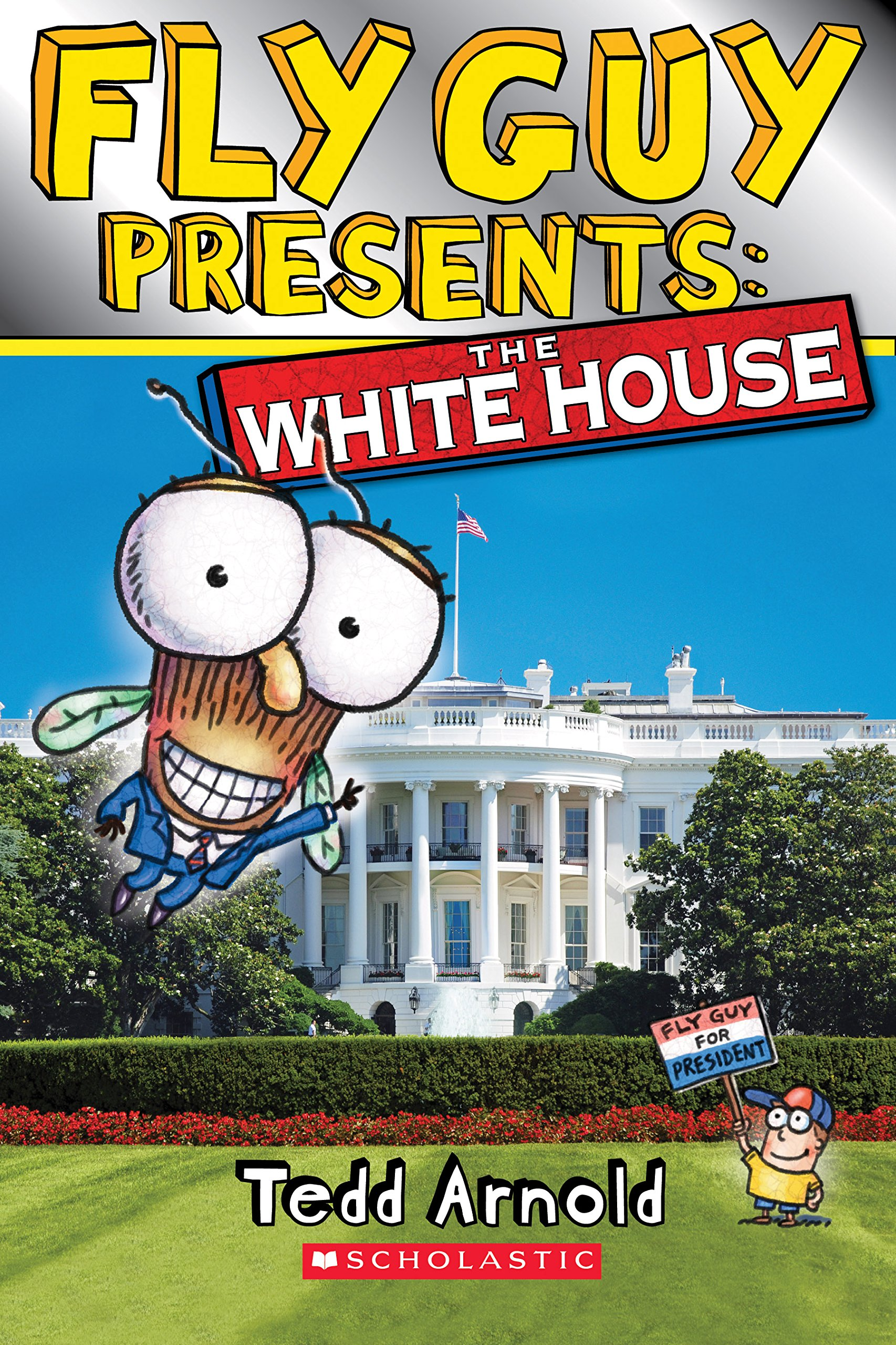 Amazon.com: Fly Guy Presents: The White House (Scholastic Reader, Level 2)  (9780545917377): Tedd Arnold: Books