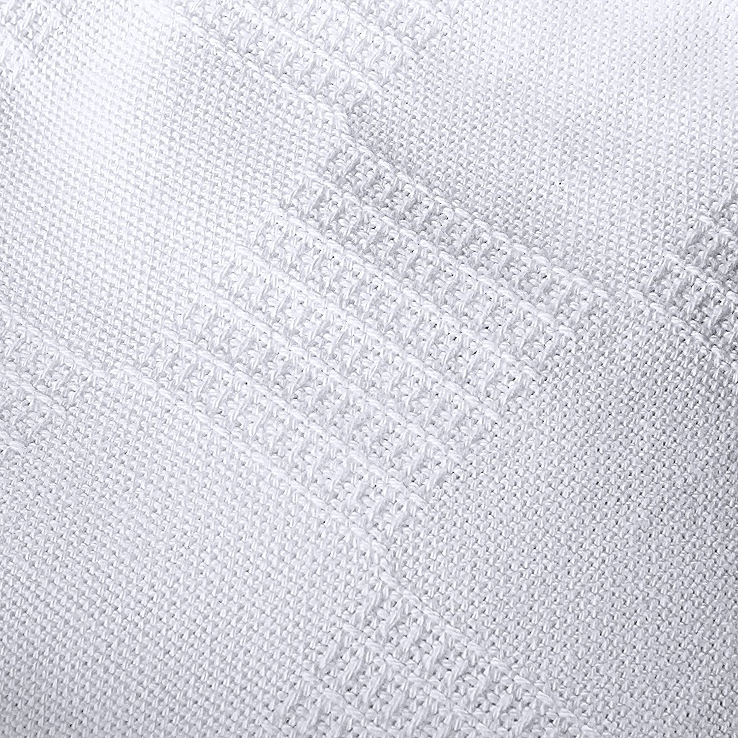 Breathable Cotton Throw Blanket and Quilt for Bed /& Couch//Sofa Utopia Bedding 100/% Premium Woven Summer Cotton Blanket Twin, White