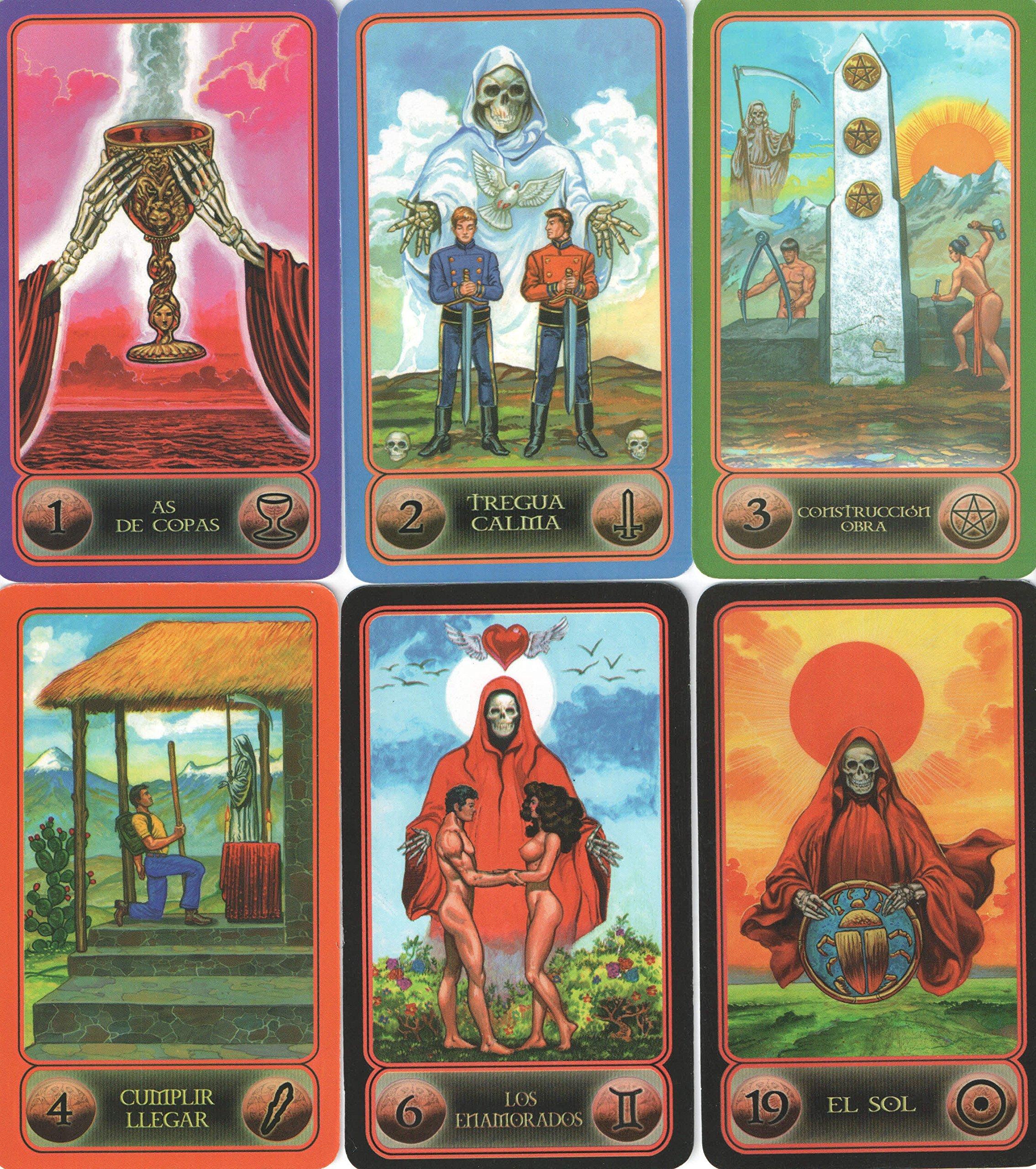 Amazon.com: Tarot de la Santa Muerte (Spanish Edition ...