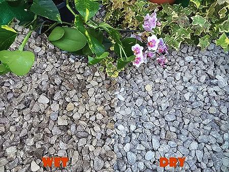 Gravilla, grava de pizarra para disuadir la hierba del jardín, para patios, senderos, cubrir el suelo de plantas, aristas de piedra, color gris (10 – 20 mm), 5KG: Amazon.es: Hogar