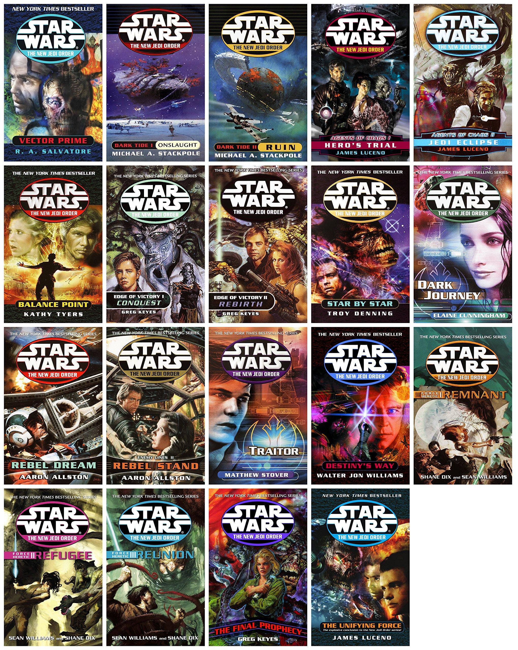 Star Wars NEW Jedi Order Complete Set 19 Books (New Jedi Order, 1-19) ebook