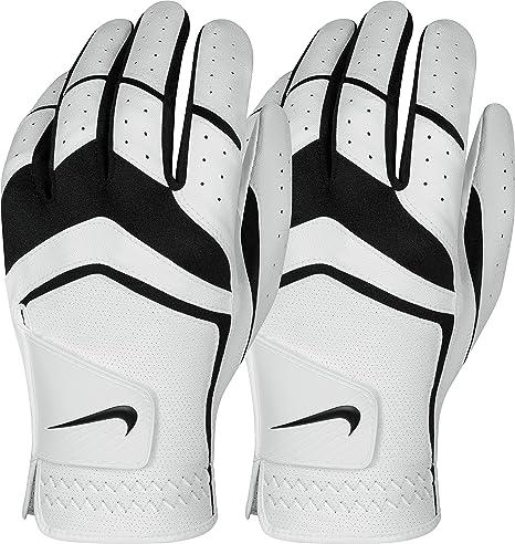 amazon com nike men s dura feel golf glove 2 pack white