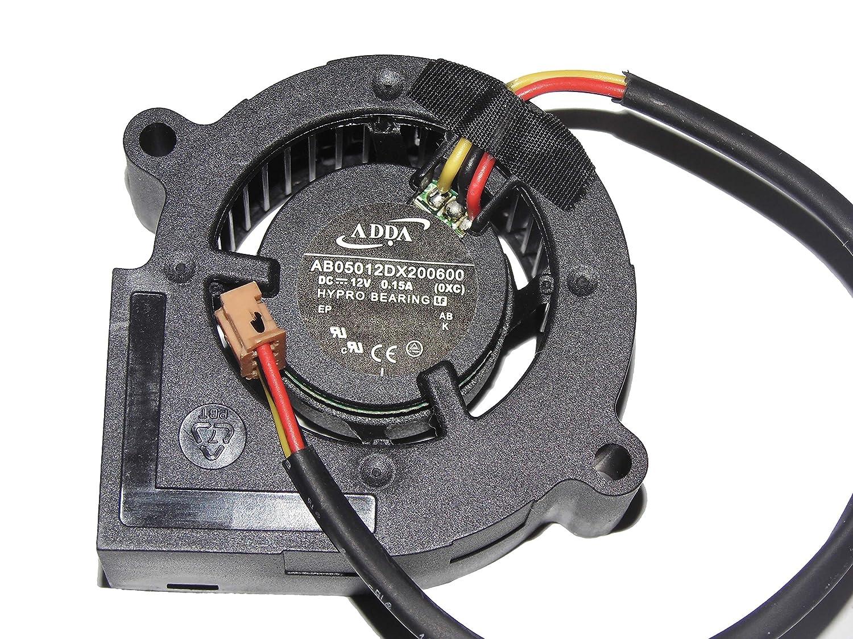 Adda 5 cm ab05012dx200600 Ox 12 V 0.15 A 3 Wire Proyector ...
