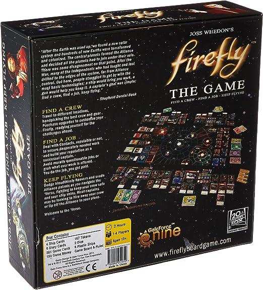 Gale Force Nine Firefly: El Juego: Amazon.es: Juguetes y juegos