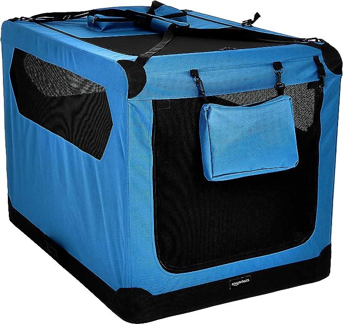Top 10 Amazonbasics Premium Folding Portable Soft Pet Crate