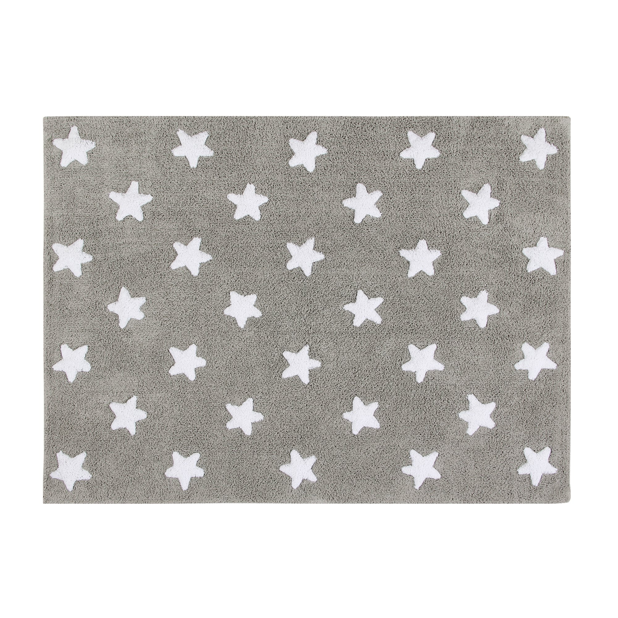 Lorena Canals Purple Flowers Washable Children's Rug - Machine Washable, Perfect for the Nursery - Handmade from 100% Natural Cotton and Non-Toxic Dyes by Lorena Canals (Image #2)