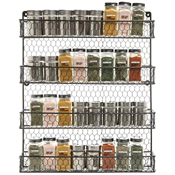 MyGift Country Spice Rack
