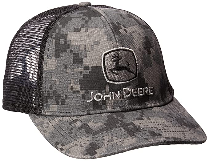 John Deere Men s Digital Camo and Mesh Cap Embroidered 62948065a83e