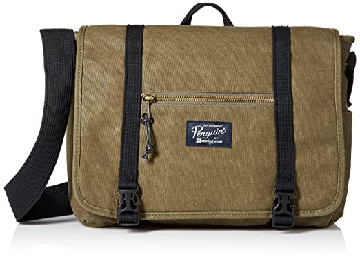 5d2bb014fd Original Penguin Men s Waxed Canvas Messenger