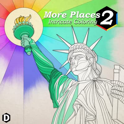 Intricate Coloring 2: More Places [Download]