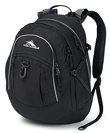 376f1b744 Amazon.com: High Sierra Fat Boy Backpack (Black): Sports & Outdoors