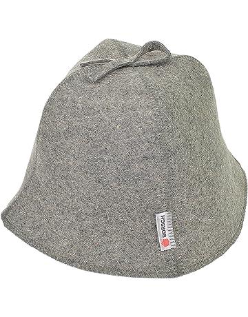 4b44037bc3 Borsch Russian Sauna Hat Natural Sheep's Wool