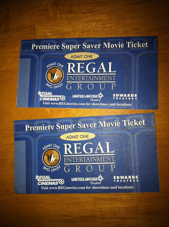 Regal movie tickets