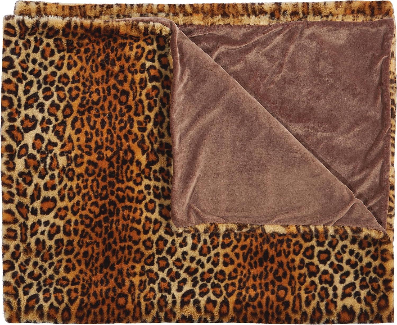 50 X 60 Nourison Mina Victory Mina Victory Fl102 Brown Decorative Pillow