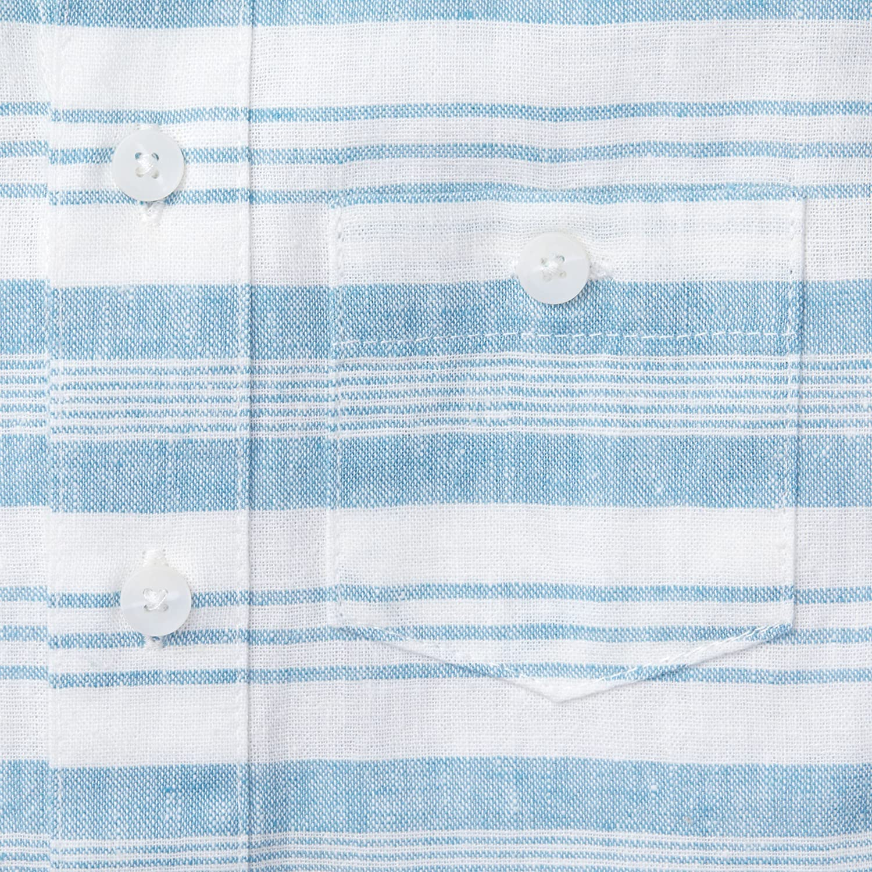 Hope /& Henry Boys Short Sleeve Button Down Shirt