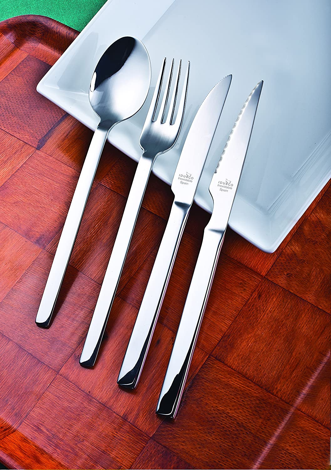 Amazon.com | idurgo Turin Ref. 18500 Cutlery Set, Stainless Steel: Dinnerware Sets