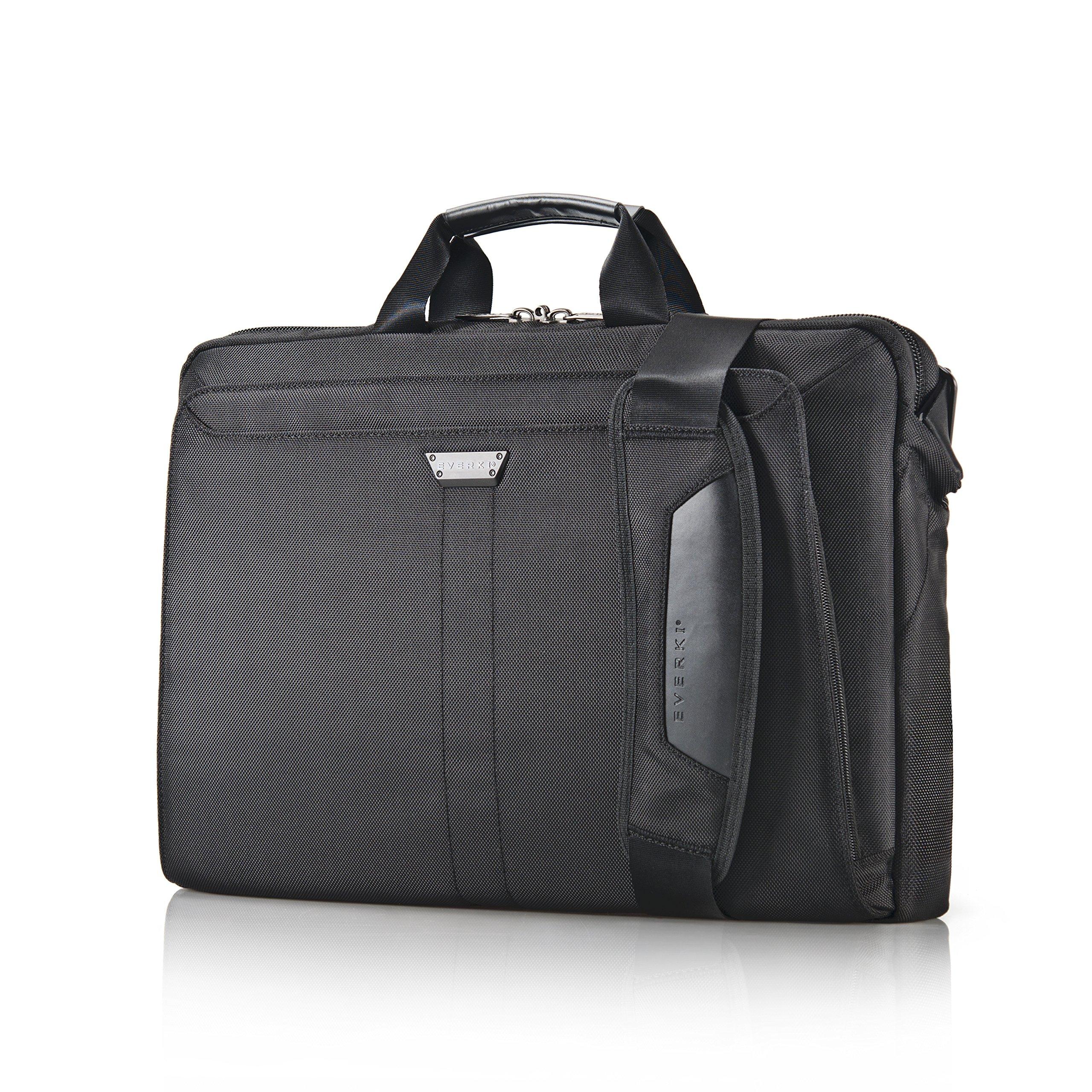 Everki Lunar Laptop Bag - Briefcase, Fits up to 18.4-Inch (EKB417BK18)