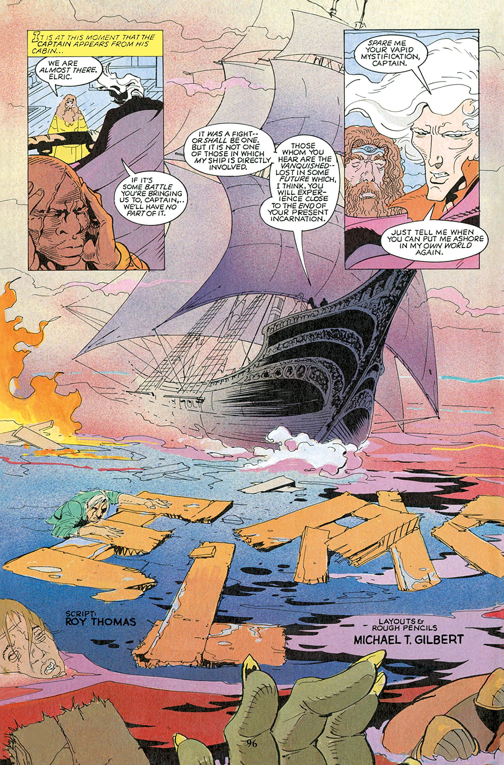 The Michael Moorcock Library Vol2: Elric: The Sailor On The Seas Of Fate:  Roy Thomas, Michael T Gilbert, P Craig Russell: 9781782762898:  Amazon: