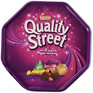 Nestle Quality Street 650g Tub of Assorted Wrapped Chocolates