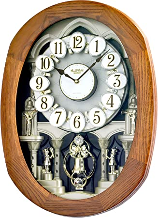 Nostalgia Clock Vintage Clock Home Sweet Home English Clock Black Wall Clock