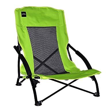 Caravan Sports Compact Chair, Lime Green
