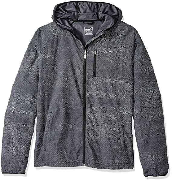 PUMA Chaqueta de hombre Nightcat, Puma Black Heather, grande: Amazon.es: Ropa y accesorios