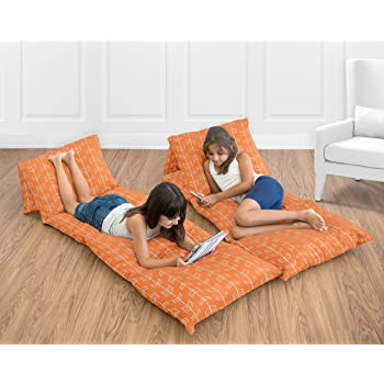 Amazon Com Butterfly Craze Kids Floor Pillow Fold Out