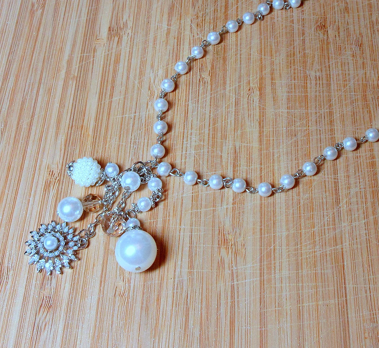 Not Your Grandmother's Pearl Necklace by BethExpressions