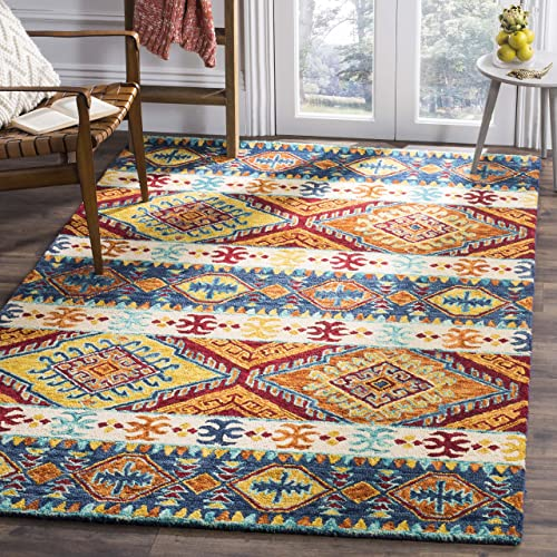 Safavieh APN502A-8 Area – Rugs, 8 x 10 , Navy