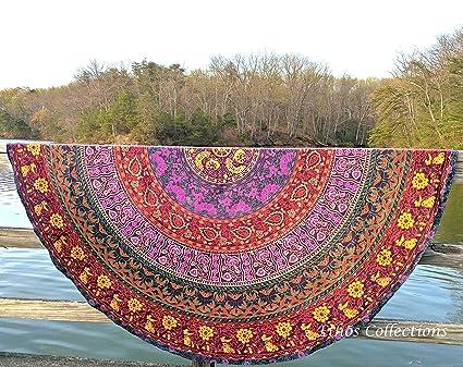 redondo tapiz Picnic Ethos colecciones Roundie x 1 indio manta CFfBwnq